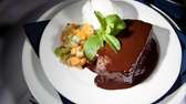 """Meatloaf"" dessert at Jack Halyards American Bar &"