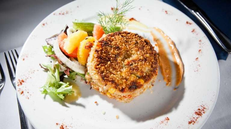 The Maryland crab cake is well-made at Jack