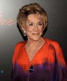 Jeanne Cooper arrives at the 37th Daytime Emmy