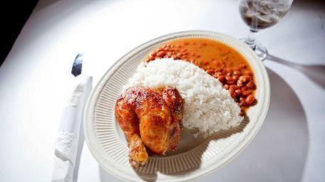 Millennium Chicken III's juicy, flavorful rotisserie chicken is