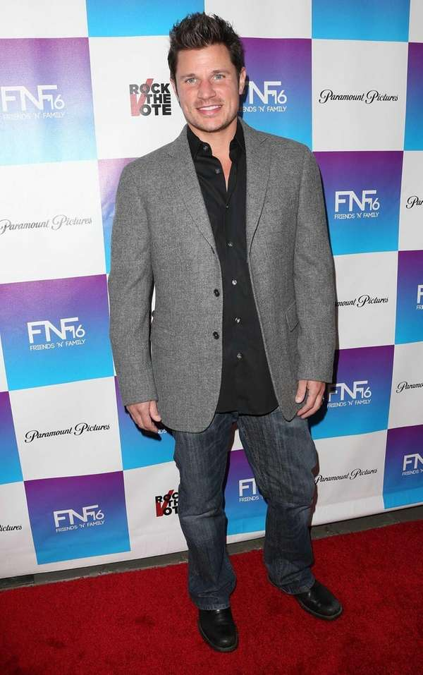 Nick Lachey attends the 16th Annual quot;Friends 'N'
