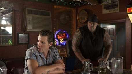 Beau Knapp, left, and Brodus Clay in