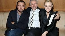 Director Baz Luhrmann and actors Leonardo DiCaprio and