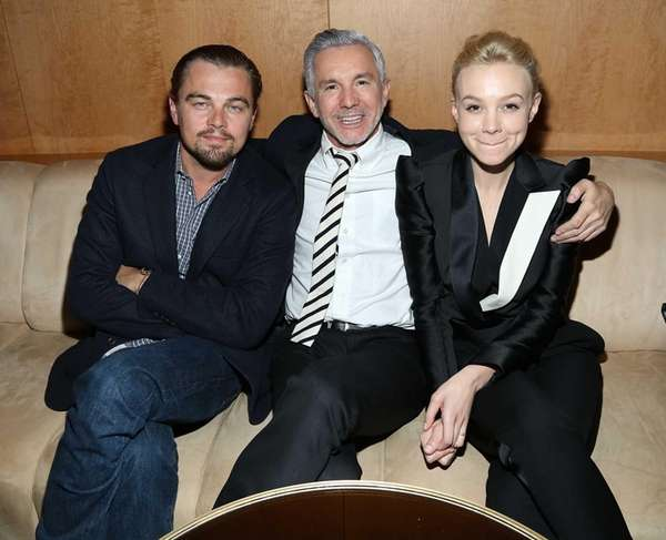 Director Baz Luhrmann and actors Leonardo DiCaprio and