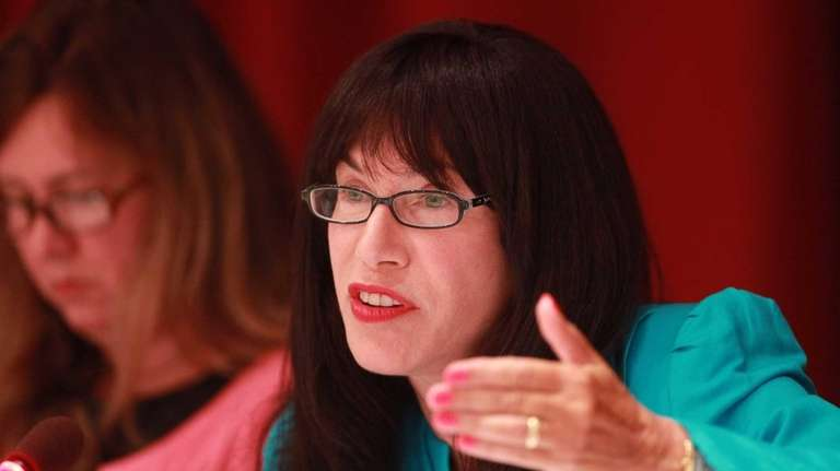 Syosset superintendant of schools Dr. Carole G. Hankin