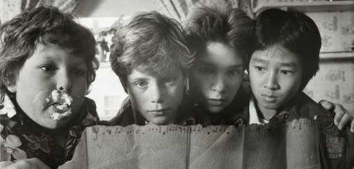 "A scene from ""The Goonies"" (1985)."