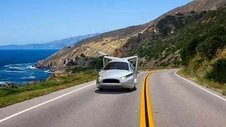 The TF-X is a plug-in hybrid electric flying