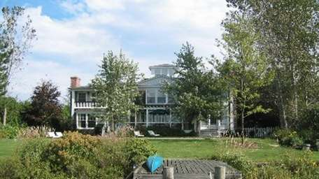 This 4,600-square-foot historical waterfront home in Sag Harbor