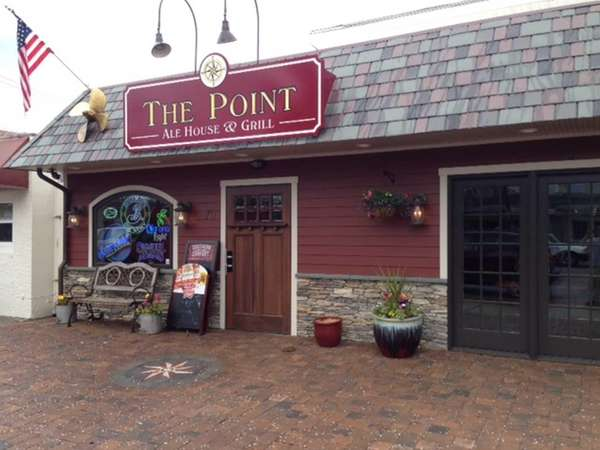 Exterior shot of The Point Ale House ...