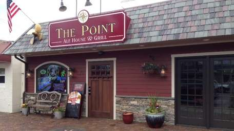 Exterior shot of The Point Ale House &