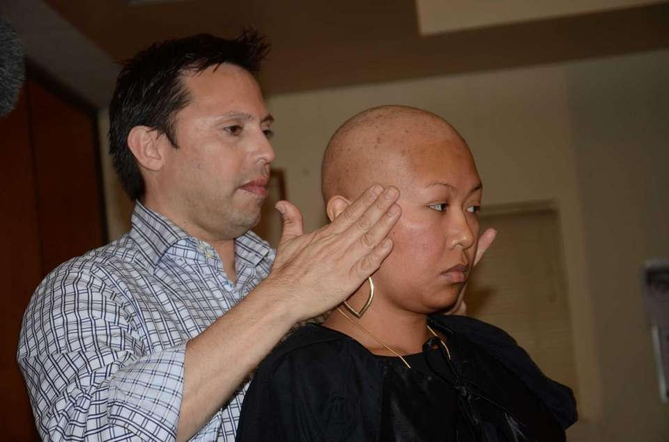Cancer treatments have caused Fay Marie De Claro's