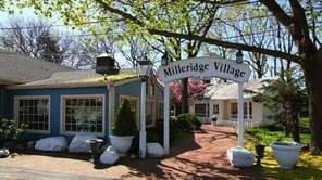 The original part of the Milleridge Village inn