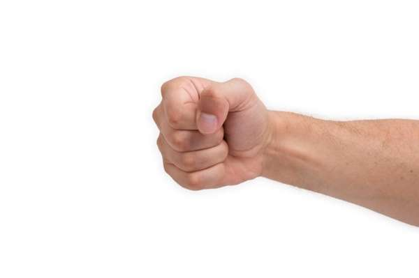 Researchers surmise that right-hand clenching quot;increases the neuronal