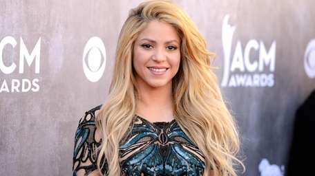 Shakira has two little boys named Milan and