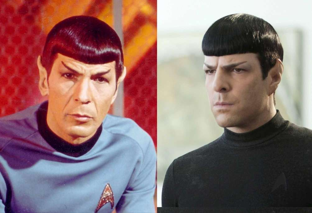 Spock: Leonard Nimoy, Zachary Quinto