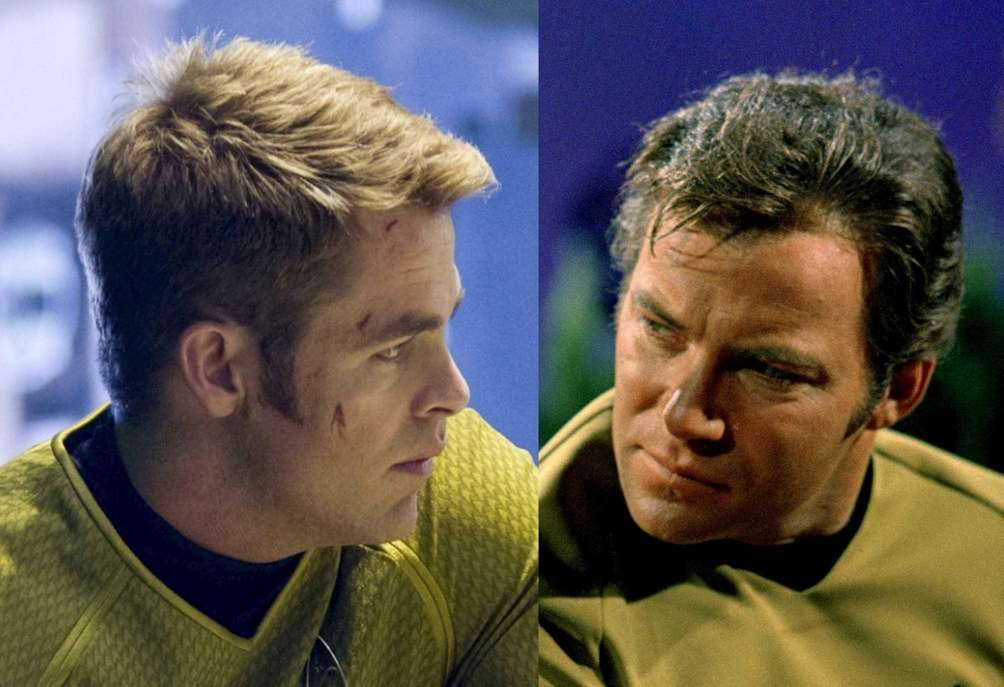 James T. Kirk: Chris Pine, William Shatner