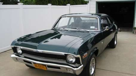 The 1970 Chevrolet Nova coupe is owned by