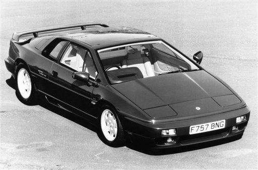 The 163 mph Lotus Esprit Turbo SE went