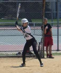 Rebecca Pistocchi of Bellmore JFK softball.