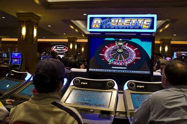 Resorts World Casino in Jamaica, Queens has electronic