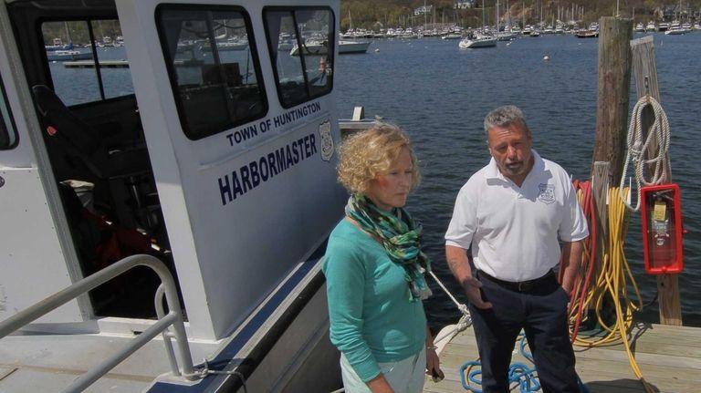Harry Acker, Sr. Harbormaster for the Town of