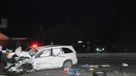 The driver of a Suzuki wagon was killed