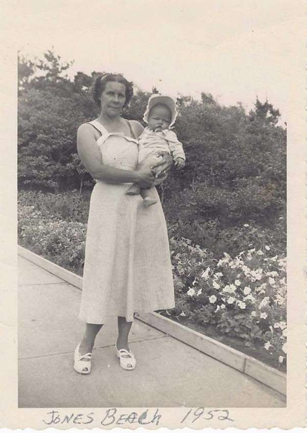 Adele Solimine with her mom, Adele Jones Halversen,