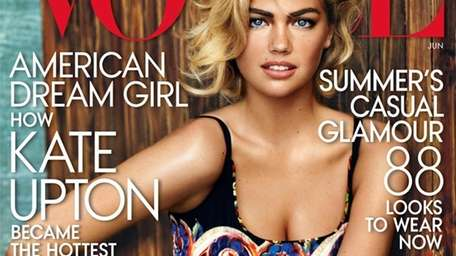 Kate Upton covers Vogue's June 2013 issue.