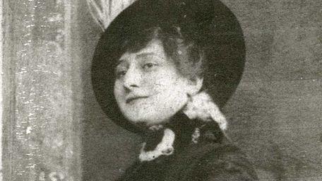 Yetta Alderberg, the writer's mom.