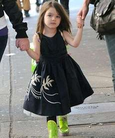 Reports claiming Suri Cruise, 7, is launching her