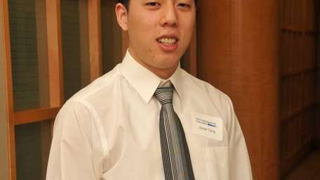 Jesse Tang, one of two winners in Capital