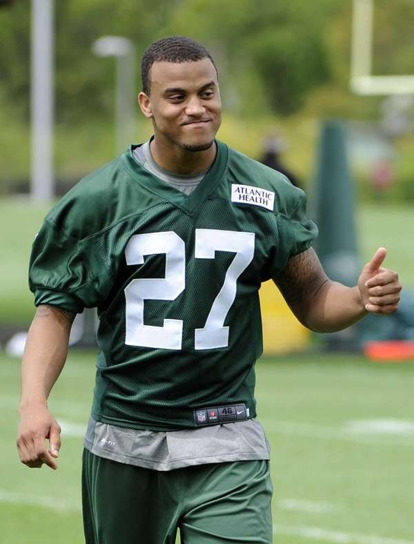 Jets cornerback Dee Milliner, a first-round pick out