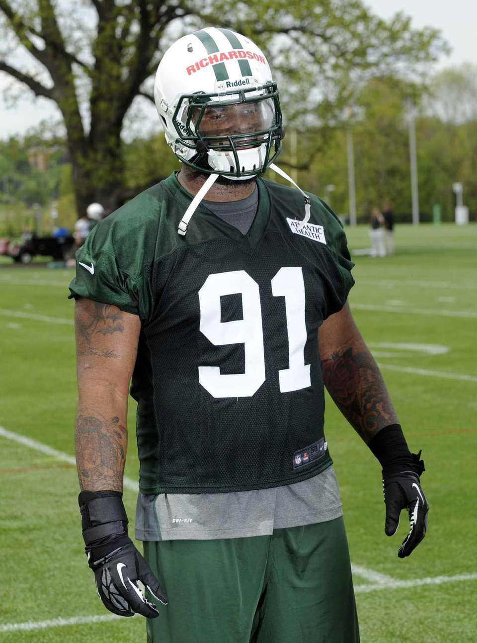 New York Jets defensive tackle Sheldon Richardson, a