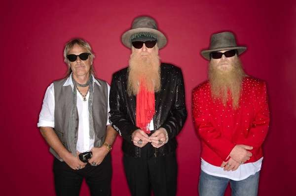 Drummer Frank Beard, guitarist/vocalist Billy F. Gibbons and