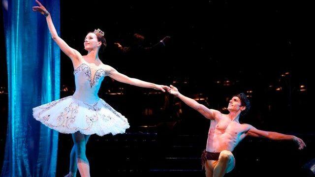 Irina Dvorovenko and Joaquin De Luz star in