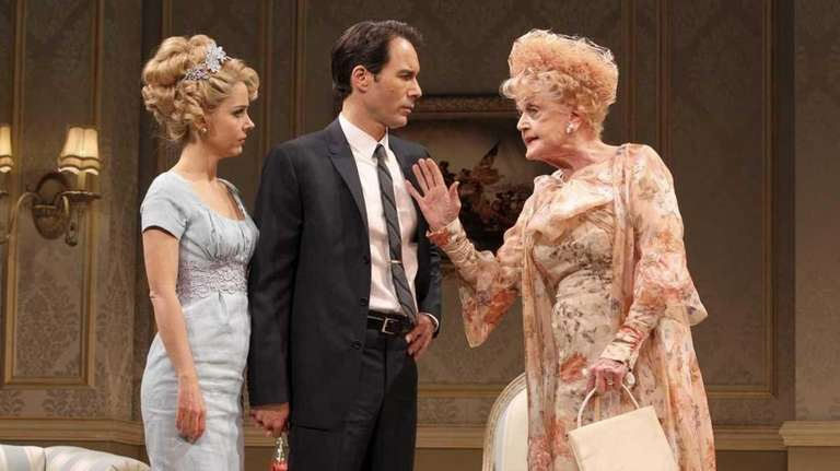 From left, Kerry Butler, Eric McCormack and Angela