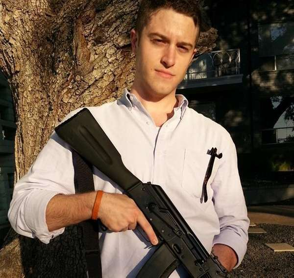 Cody Wilson, a law student and self-described anarchist