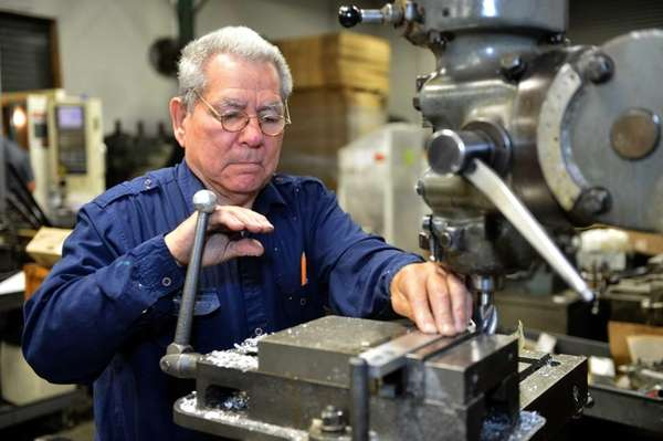 Bolivar Rodriguez, of Ronkonkoma, is a machine operator
