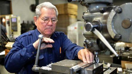 Bolivar Rodriguez, of Ronkonkoma, is a machine operator