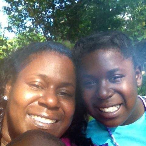 Azaria and I at Lynell's baby shower.
