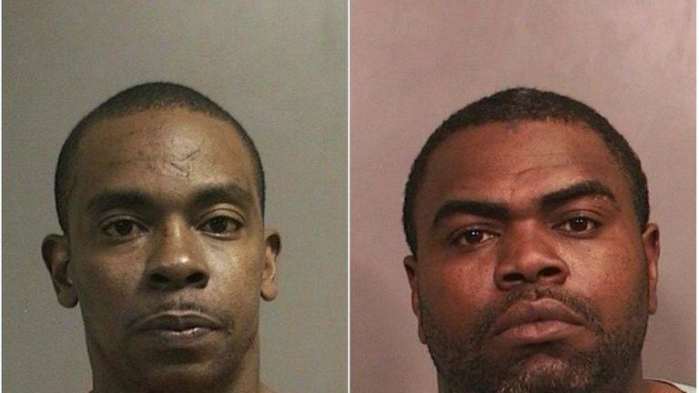 Omar Sharpe, 36, left, and Theodis A. Cole,
