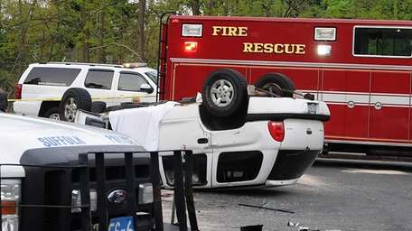 Two people were killed in two car accident