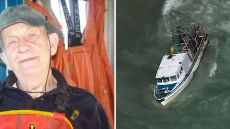 Left: Stian Stiansen, 85, of East Quogue is