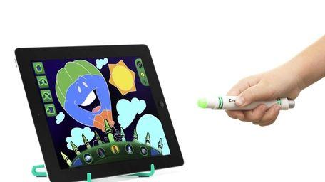 Crayola Light Marker is an electronic virtual crayon