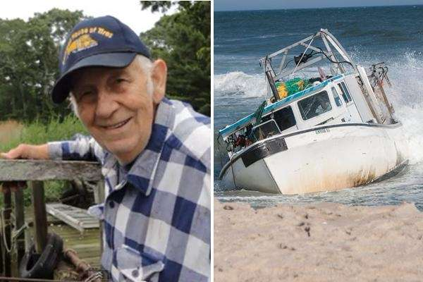 Officials say Stian Stiansen, an 85-year-old veteran boat