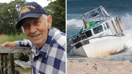 Officials say Stian Stiansen, an 85-year-old veteran boat
