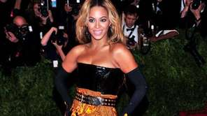 Beyoncé attends The Metropolitan Museum of Art's Costume