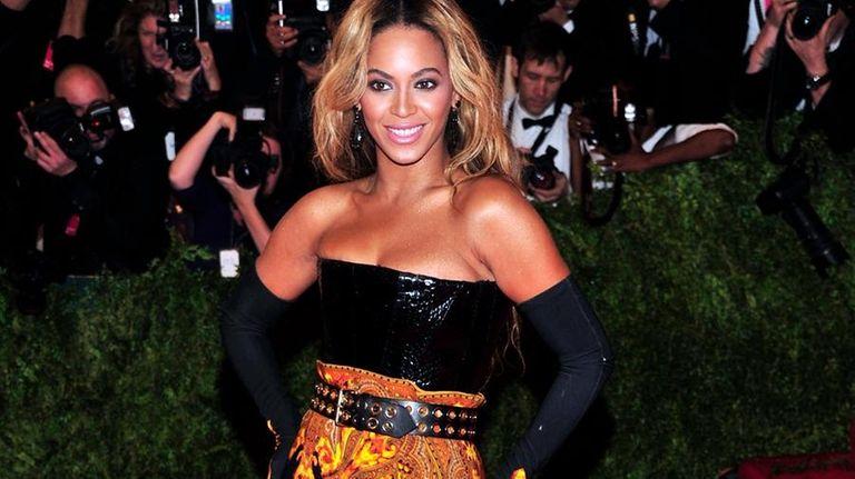 Beyoncé attends The Metropolitan Museum of Art's Costume