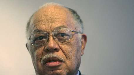 Dr. Kermit Gosnell in his attorney's office in