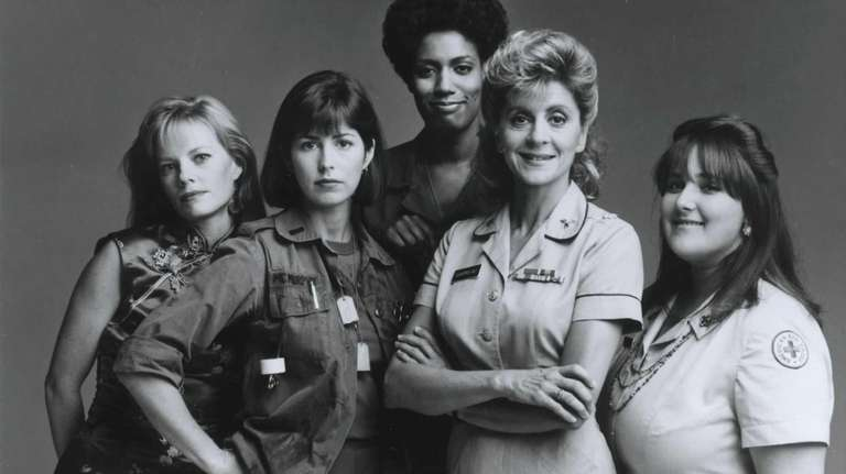 From left, Marg Helgenberger, Dana Delany, Nancy Giles,